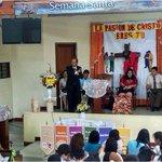 Pr. Emilio Verde apertura  la #SemanaSanta2015 #LaPasióndeCristoEresTú en la @IASDPALERMO1. http://t.co/iF8RtCvQlt