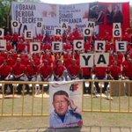 Trujillo exige #ObamaDerogaElDecretoYa Somos un pueblo Nacionalista. Hoy #4MillonesContraElDecreto @NicolasMaduro http://t.co/6nF31sagdd
