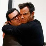 Loving this bromance! See the fun pics of Justin Theroux & @JoshGad together today: http://t.co/C7ncgFVXnR http://t.co/397YpRksRK
