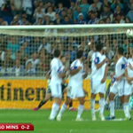 Gareth Bale scored this terrific free-kick as Wales beat Israel 3-0 away. Goals on #SSNHQ #ISRvWAL http://t.co/6gHv6Zf3CH