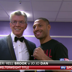 """Lets get ready to rumbleeeeeeeee!!!!!"" Here is Michael Buffer & the main man, Kell Brook. Sky Sports 1! #SkyBoxing http://t.co/xuahy2znMw"