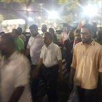 Hingaalun feshigen kuriyah #InsaafugeMagah #GaumeeHarakaaiy #AniyaaVerikamaaDhekolhahDhivehin #FreePresidentNasheed http://t.co/pIj9RfrmXw