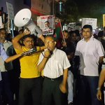 Hingaalun feshigen kuriyah #InsaafugeMagah #GaumeeHarakaaiy #AniyaaVerikamaaDhekolhahDhivehin #FreePresidentNasheed http://t.co/LDwr1sZEpL