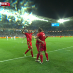 GOAL! Israel 0 - 3 Wales (Bale). Ramsey to Bale and Wales are in dreamland: Sky Sports 5! http://t.co/Jgdg8tPIPQ http://t.co/yBPrxsoMxj