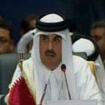 أمير قطر منتقدا انقلاب السيسي ضمنيا في شرم الشيخ: التغيير بالقوة والدولة الأمنية هي أسباب ... http://t.co/gGrA2Ugm7H http://t.co/KTIOqQo8Rd