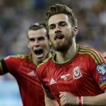 HUGE RESULT! Israel 0-3 @FAWales: Ramsey and Bale goals put Wales top of #Euro2016 Quali Grp B http://t.co/5xSMFxl6jr http://t.co/l7IeXGeU6g