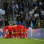 Israel 0-3 Wales FT: An Aaron Ramsey opener & Gareth Bale brace put Wales at the summit of Group B. http://t.co/nqb2Zplyna