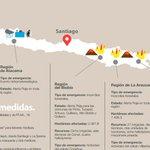 """""""@soychilecl: La Onemi publicó un mapa con todas emergencias que afectan a Chile http://t.co/lOpSmAbrpU http://t.co/4rtWo4qDVj"""""""