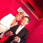 Me and @clarebalding! D #SaturdayNightTakeaway http://t.co/6u6rQDhLuQ