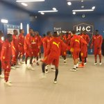 @ghanafaofficial not too different from the #afcon2015 final starting line up. Just 2 changes. Acheampong in for Baba http://t.co/3KtZrqohLP