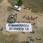 """@marbelinares: Desde #Aragua te decimos #ObamaDerogaElDecretoYa @TareckPSUV http://t.co/zTWFpAxLa7"""