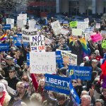 """Indianas """"Religious Freedom Restoration Act"""" sparked protest — both online and in the streets http://t.co/gagcCXO4PQ http://t.co/DxWwYcJ4GF"""