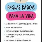 Siete reglas básicas de la vida http://t.co/8sNEUVRrsT (vía @EME_demujer) http://t.co/MmULJ5DD6Z