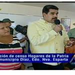 Pdte @NicolasMaduro : Censo de activación de la Gran Misión Hogares de la Patria ya supera las 100 mil familias . http://t.co/CLuOAbsTkR