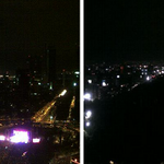 """@WWF: LIVE. This is how Mexico City looks like during #EarthHour. Thanks @webcamsdemexico http://t.co/dB7SiJ9lli"""