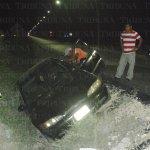 Por falta de señales cae vehículo en zanja de la #Campeche-#Chiná. http://t.co/Zl2UedRQFU http://t.co/HnHC2yB3xk