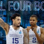 Wildcats survive! 1-seed Kentucky holds on in final seconds to beat 3-seed Notre Dame, 68-66, improves to 38-0. http://t.co/ibgApMPxOL