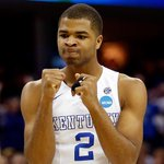 Still Perfect! Undefeated Kentucky holds off Notre Dame, improving to 38-0 and earning a trip to the Final Four. http://t.co/iqFDlxz5Qp