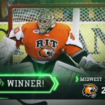 This is college hockey! @RITMHKY upsets top-seeded @MavHockey 2-1. #NCAAHockey http://t.co/1veRiq6Ba8