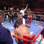 Its all over! What a display from @SpecialKBrook in front of his home fans. #SkyBoxing #kellbrook http://t.co/yB8tqaCL7U