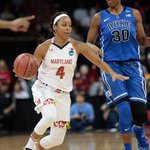 No. 1 seed #Maryland (@umdwbb) ousts #Duke in regional semifinals 65-55 #WJZMadness http://t.co/wgXfWKfvuZ http://t.co/E9BFyQYWOC