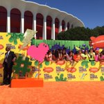The Orange Carpet at the Forum for the KCAs right now! -M #Vote5SOS #KCA http://t.co/wKYwxti52k