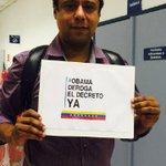 Diputado Federal y ex Ministro de Deporte (Brasil) Orlando Silva. #ObamaDerogaElDecretoYa #VenezuelaEsEsperanza http://t.co/IqSH2fOgqi