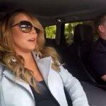 【動画】マライア・キャリー、車の中でカラオケ。ノリノリである。 http://t.co/rzyRarOEWk http://t.co/HuXIbJZa48
