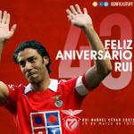 Rui Costa, ex-jogador do Benfica e actual administrador da SAD, faz hoje 43 anos. Parabéns, Maestro! http://t.co/j7nxWxu6Ge