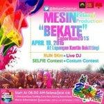 Ikuti Event #bekatecolorrun tgl 19 April 2015 start pukul 06.00 di Lap Kantin Bukittinggi . Info @BekateColorrun http://t.co/L3P3LALg7o