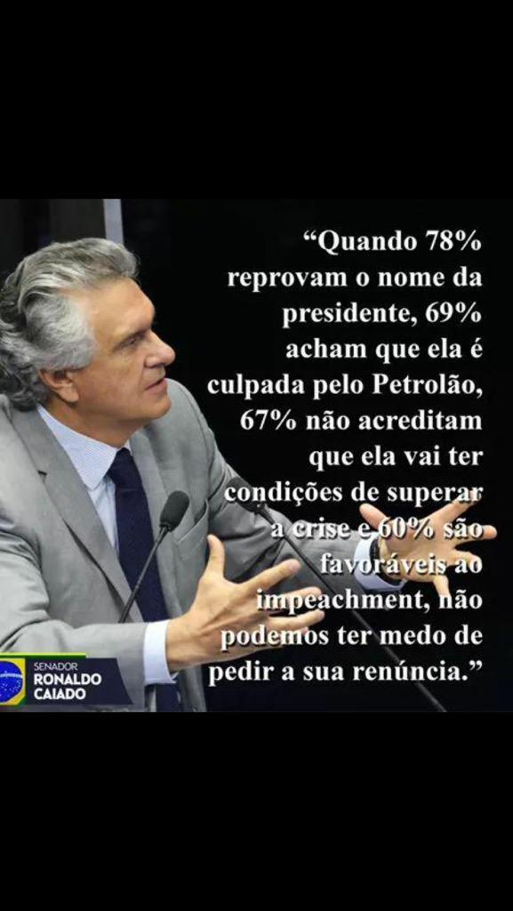 Isso @SenadorCaiado!!!