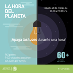 Apaga tus luces contra el #CambioClimático #HoraDelPlaneta @WWF http://t.co/Eqlid1mwXr