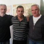Reunión de trabajo con FPV C.Dorrego, Dani Piñon y Osvaldo Barcelona pensando en los vecinos #elcandidatoeselproyecto http://t.co/dnHc237VTc