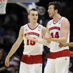 FINAL: No. 1 Wisconsin advances to the Final Four! --> http://t.co/iDQ8TfIG76 http://t.co/d6LhYECibO