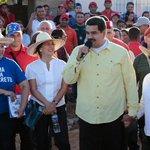 #FOTO @NicolasMaduro: Venezuela no es amenaza ni de Estados Unidos ni de nadie #VenezuelaNoEsAmenaza http://t.co/vzMgZlkfFP