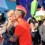 we just won cutest couple at the #KCAs. @Meghan_Trainor #KCA ???????????? http://t.co/juTUPy0o1I http://t.co/Ft5XkXOnjo