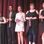 And congratulations to Caitlyn Cornelius and Tyler Perkins on Hon. Mention and All-star cast! http://t.co/uq5dZ9khPq