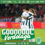 """Minuto 2: Gooooooooooooooooooooool de Nacional. Goooooooooooooooooooool de Juan David Valencia. #MiNacionalenvivo http://t.co/TQky4Y02rs"""""""