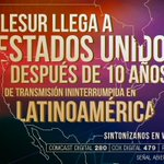 #teleSURenEEUU | @teleSURtvllega a#EEUUpara llevar la verdad de América Latina a más de 2.3 millones de hogares http://t.co/BaJ2HMeJZO