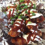 Hot off the new menu.... Cherry Chipotle wings! Come and get em #amazing #funkzone #santa Barbara #food trucks http://t.co/7QRDoy66xd