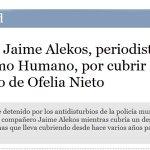 ¿Pensaban que en España la policía no detenía a Periodistas? #LeyMordaza #BoicotAnunciantesMediaset http://t.co/uw6HlFBANH