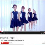 allkpop: CLCs debut song Pepe reaches 1 million views on YouTube! http://t.co/DQtvzXLqfs http://t.co/tt5FiRK4Ds