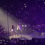 """""""@SimplyCaiMac: """"@issa123: When @justinbieber surprises everyone in Miami at @ArianaGrande s show. #TheHoneymoonTour http://t.co/say0qvaUZ9"""