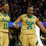 Here come the Irish! Notre Dame goes on a 9-2 run and forces Kentucky to call TO. Irish lead, 46-42. http://t.co/44EfZLFyHH