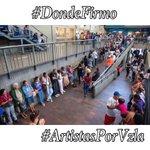 @NicolasMaduro  #DondeFirmo para que tu Gobierno deje de Humillar al Pueblo #UnaVocePerVenezuela  #ArtistasPorVzla http://t.co/O5RCycEpMs