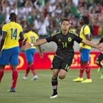 Ese sentimiento incomparable de anotar un gol. Así lo gritó @CH14_ #AquíEstamos http://t.co/9KbNYtKL6o