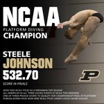 .@Steele_Johnson wins NCAA Title in Platform Diving!! 2nd NCAA title this year. 9th by a Boiler under @CoachSoldati http://t.co/zNr9Hg00RE