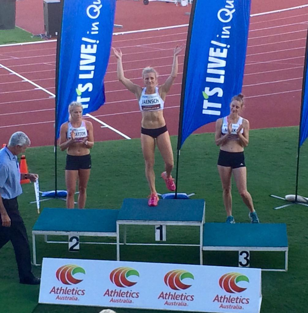 """""""@chelseajaensch: I can hardly believe it! I'm a national LJ champion. 6.74m http://t.co/fVfJFvl0Tp"""" I can! Well done girl."""