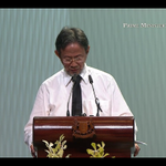 """""""PM, SM, MM, farewell,"""" says Sidek Saniff as he finishes his eulogy. """"Farewell, Friend. Farewell"""" #LeeKuanYew http://t.co/VfPfpRtjC5"""