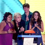 Congrats to @lauramarano @rossR5 @CalumWorthy and @Raini_Rodriguez - you guys deserved each and every #KCAs win! http://t.co/udJR4i062I